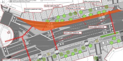 Alcalá entre Cedaceros y Cibeles: otro proyecto que descuida a los peatones